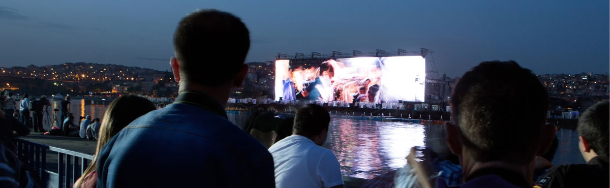 outdoor LED video solutions and Indoor LED Screen supplier Dubai project