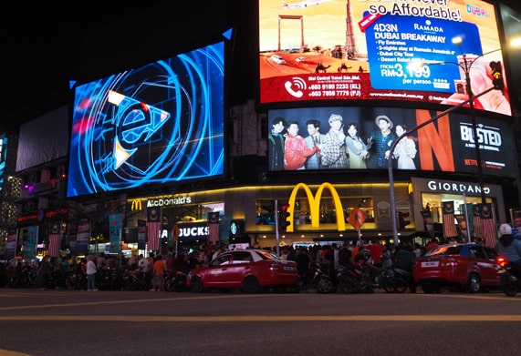 LED Displays supplier project with digital signage in Dubai and digital signage media player